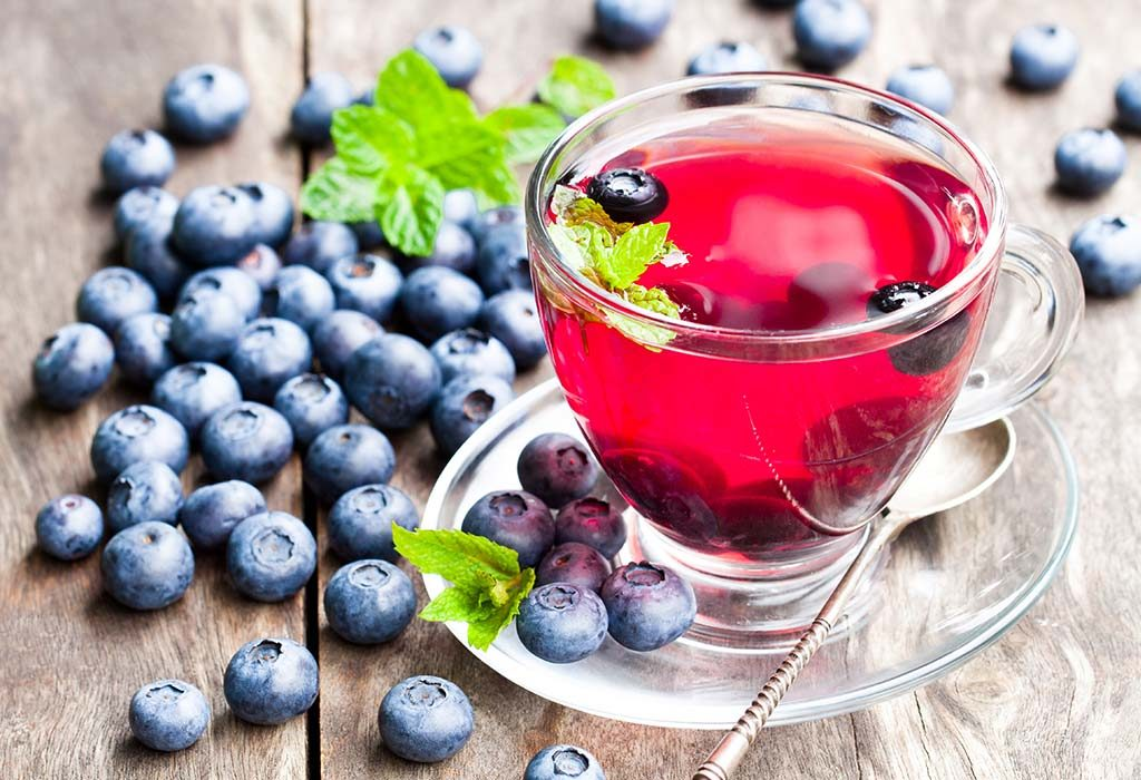 Blueberry-Tea